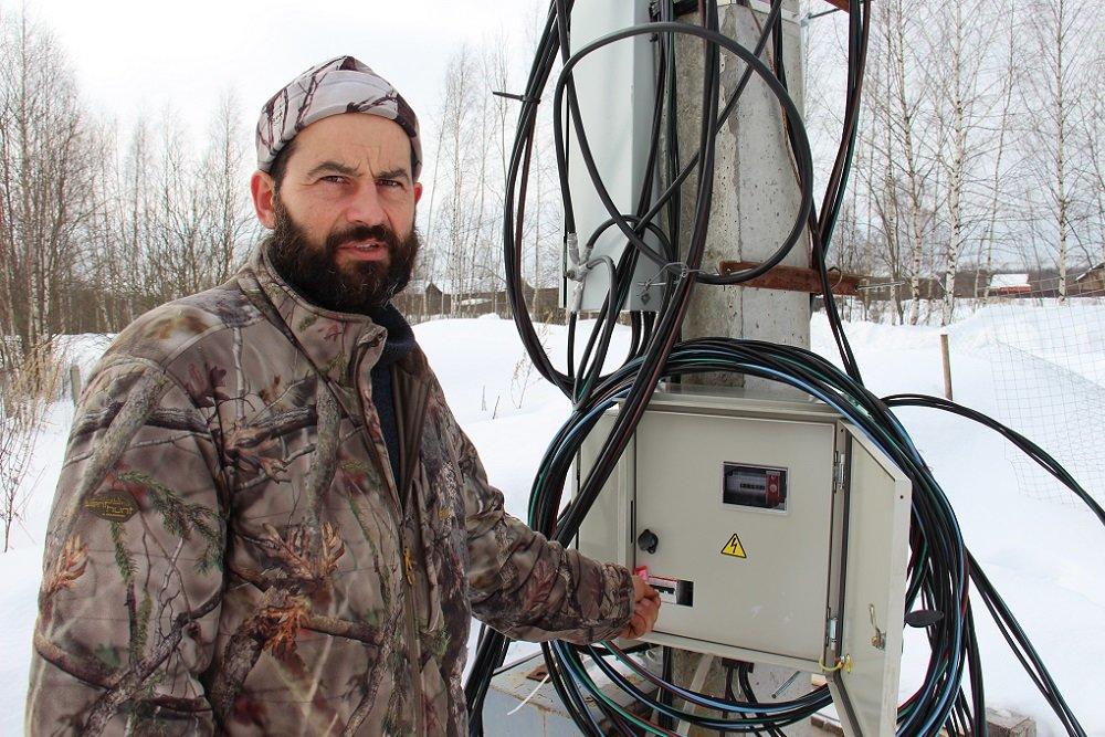 Отключение электричества нарушило планы костромского фермера